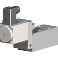 Proportional pressure relief valve