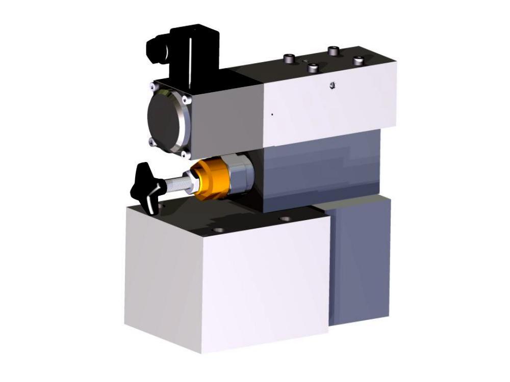 Vorgesteuertes Proportionsl-Druckbegrenzungsventil für Wasser