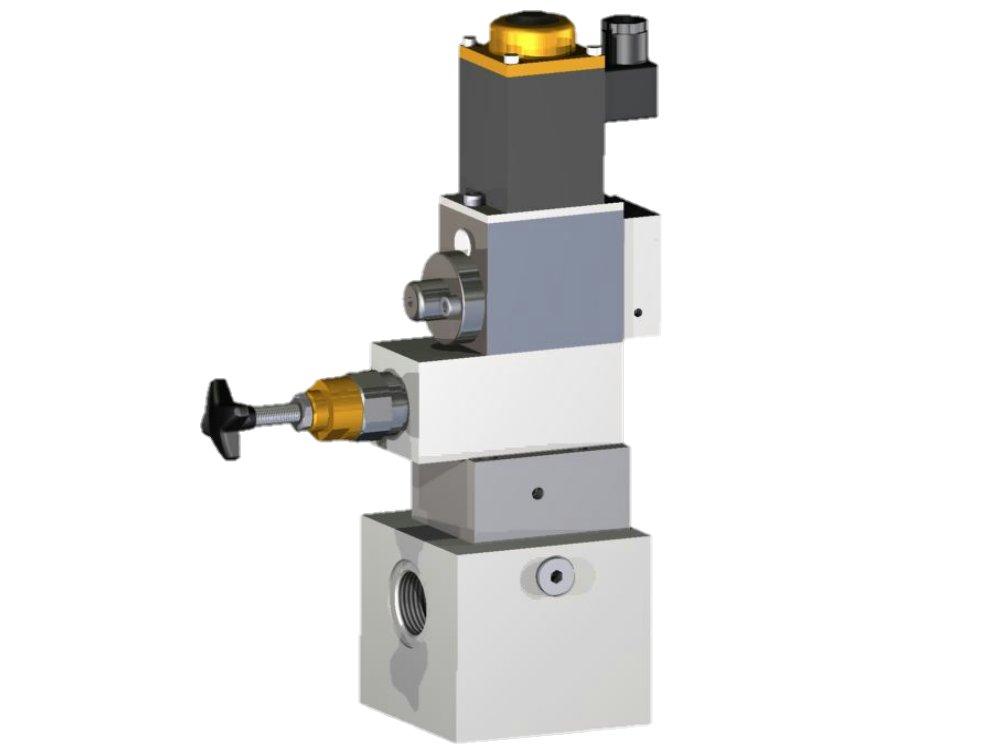 Hydraulik druckbegrenzungsventil Rohrleitung wasser