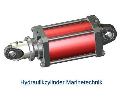 Hydraulikzylinder Marinetechnik wasser