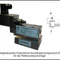 Proportional Wasser Druckbegrenzungsventil Hydraulisch