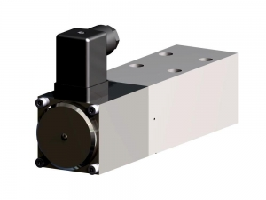 Proportional pressure relief valve direct operated