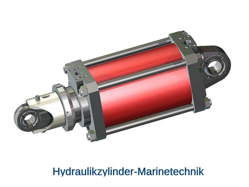 Marine Zylinder Hydraulik