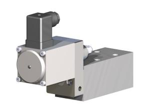 Proportional pressure relief valve direct operated for water