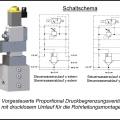 Proportional-Druckbegrenzungsventil Rohrleitungsmontage für Wasser
