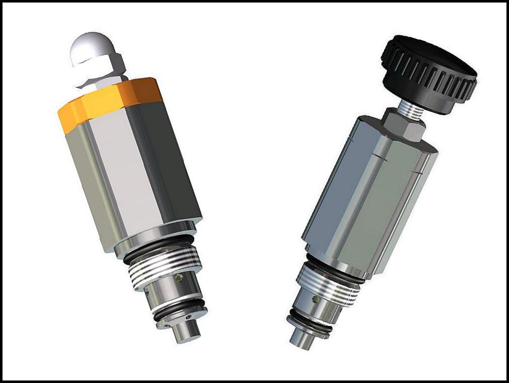 Druckbegrenzungsventilpatrone für Wasser